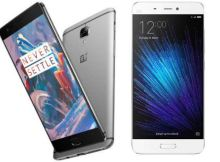 OnePlus 3 vs Xiaomi Mi 5 Comparison