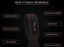 Goqii 2.0 fitness tracker price and specs