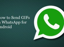 How to send GIFs in WhatsApp for Android