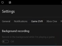 How to turn off Game DVR from recording videos in Windows 10