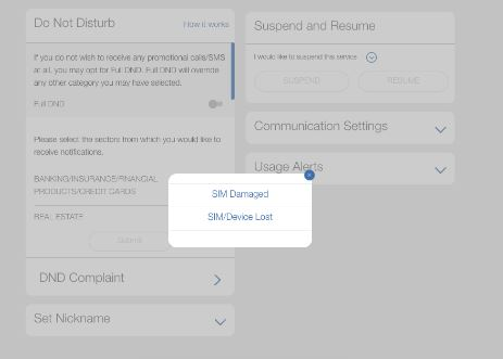 How to Disable or Block and Resume Reliance Jio SIM card from website
