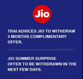 Reliance Jio Summer Surprise offer recharge last date