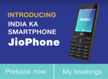 How to pre book JioPhone at 5 30 pm on August 24th