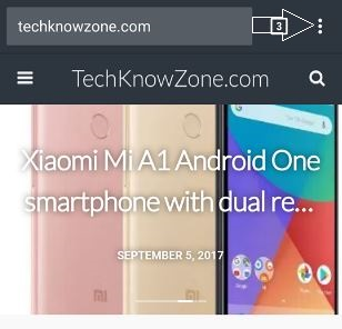 How to reopen closed tabs in Google Chrome for Android smartphones