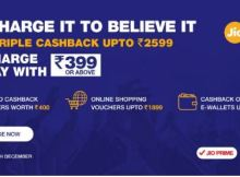 Reliance Jio triple cashback offer last date
