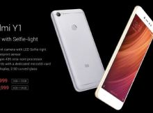 Xiaomi Redmi Y1 India price