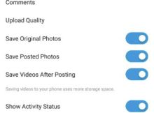 How to hide last seen status in Instagram by turning activity status Off