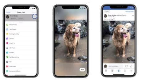How to Create and share 3D Photos in Facebook