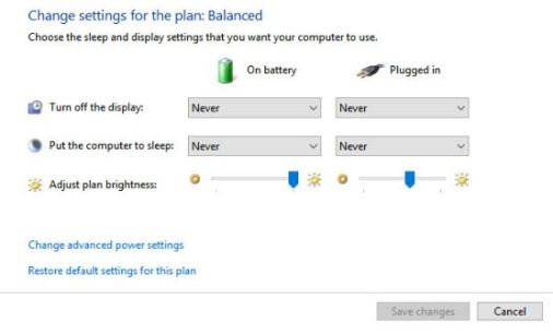 How to fix Windows 10 does not go into Sleep mode