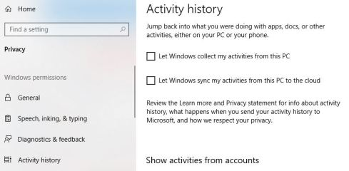 How to stop Windows 10 from tracking your activity