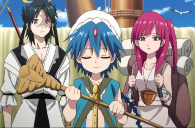 Magi Season 3 The Labyrinth of Magic Release date, Cast, Characters