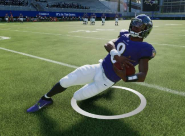 How to slide with your QB in Madden 21 on Playstation 4, Xbox One