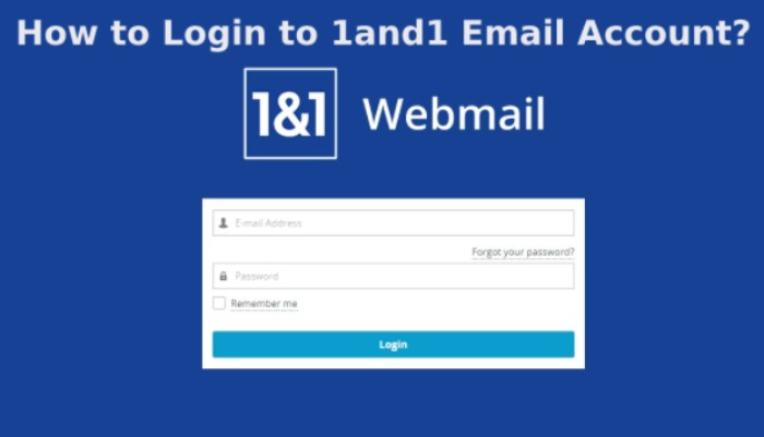 1&1 Webmail Login – Tips To Login And Sign Up 1and1 Webmail