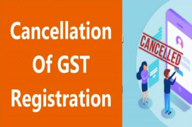 GST cancellation options you should know of