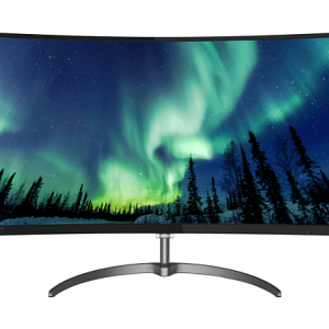 מסך מחשב 31.5 Philips 328E8QJAB5/00 Curved 5ms VGA HDMI DP