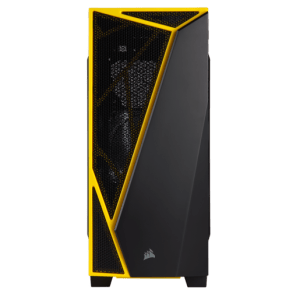 מארז ללא ספק CORSAIR SPEC-04 BLACK&YELLOW ATX USB3x1 USB2x1