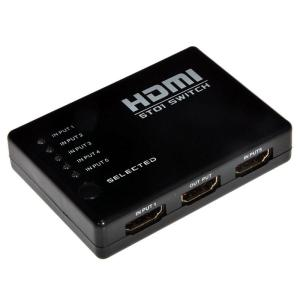 בורר HDMI Switch 1 to 3 כולל שלט