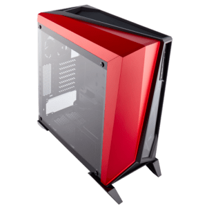 מארז ללא ספק CORSAIR SPEC-OMEGA BLACK-RED ATX USB3x2