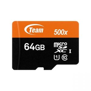 Team Micro SD 64G SDXC UHS-I + Adapter