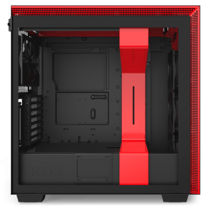 NZXT H710i Matte Black/Red