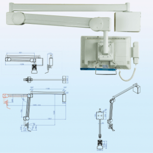 IPPON Hospital Monitor Arm Wall Mount 8kg