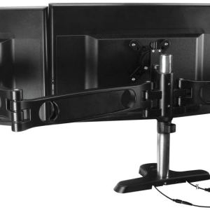 Arctic Z3 PRO Gen3 Desk Mount Triple Monitor with USB HUB Arm Black