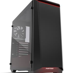 Phanteks Case Eclipse P400S TG Black/Red