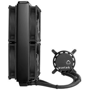 570LX Watercooling + 2X 120mm fan 230W