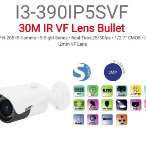 מצלמת צינור Provision IP I3-390IP5SVF 2MP VF lense 30M