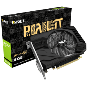 כרטיס מסך PALIT GTX 1650 SUPER 4GB StorrmX Mini-Itx DVI DP HDMI