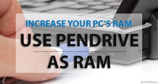 How to increase RAM using USB pendrive