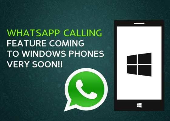 Whatsapp Calling Feature for iOS & Windows Mobile 2