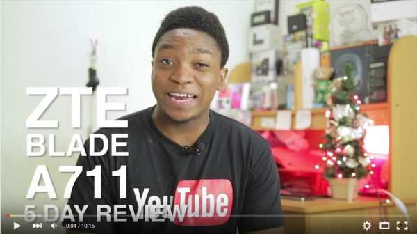 ZTE Blade A711 video review