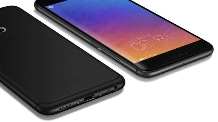 Meizu Pro 6 front and rear view