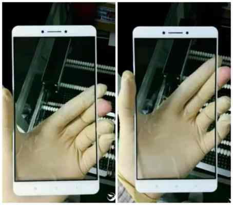Xiaomi Max display glass leak