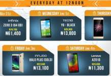 mobile week flash sales