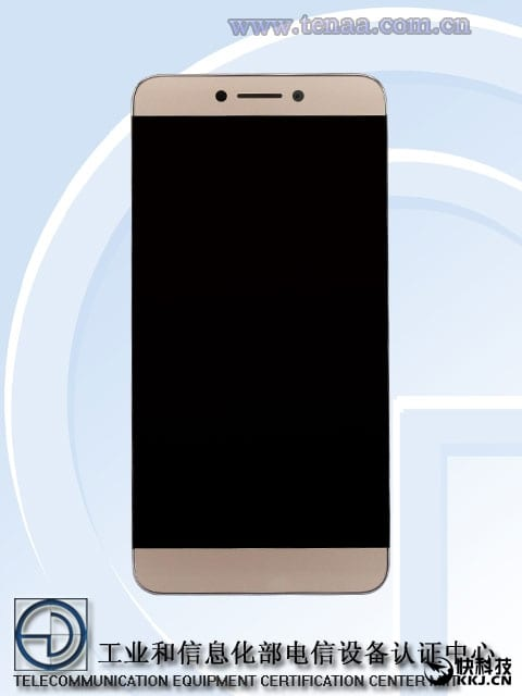 CoolPad & LeEco's first joint Phone C106 spotted on TENAA with Dual main cam