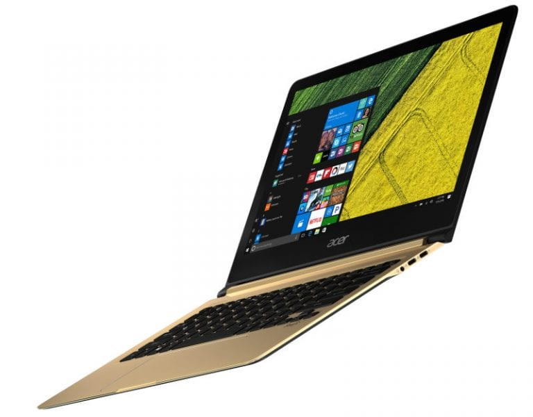Acer Swift 7: World's thinnest laptop at 9.98mm launched in India