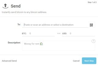Fund Swisscoin Account with Bitcoin - Send bitcoin to swisscoin