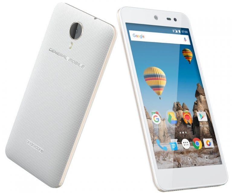 General Mobile GM 5: First Android One Smartphone with Android 7.0 Nougat - Specs Review & Price