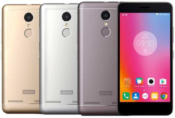 Lenovo Vibe K6 Power Colour Variants