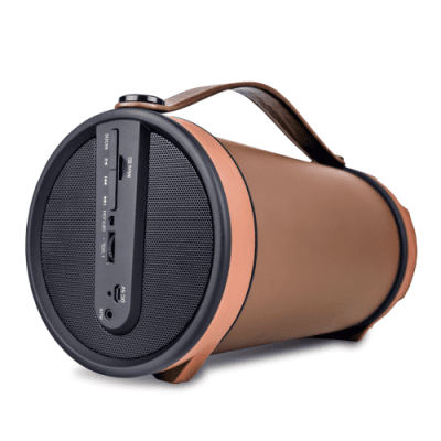 iBall Karaoke Barrel Portable  Bluetooth Speaker