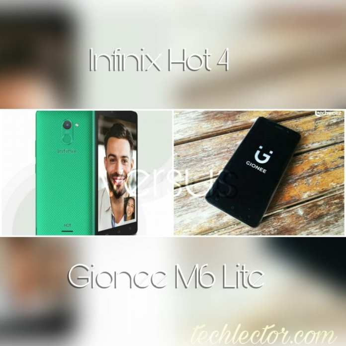 Infinix Hot 4 vs Gionee M6 Lite