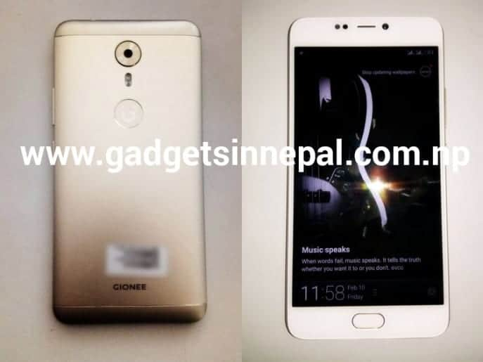 Gionee A1 Live Images