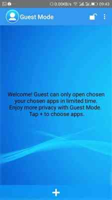 Setting the guest mode