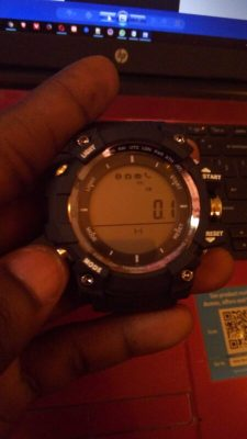 No.1 F2 Smartwatch Distance Counter