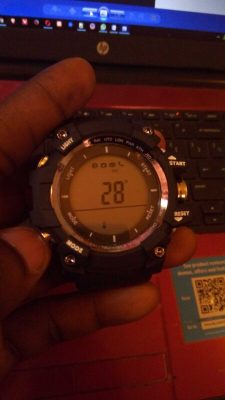 No.1 F2 Smartwatch Thermometer