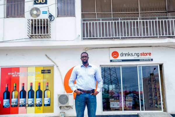 Lanre Akinlagun, founder drinks.ng