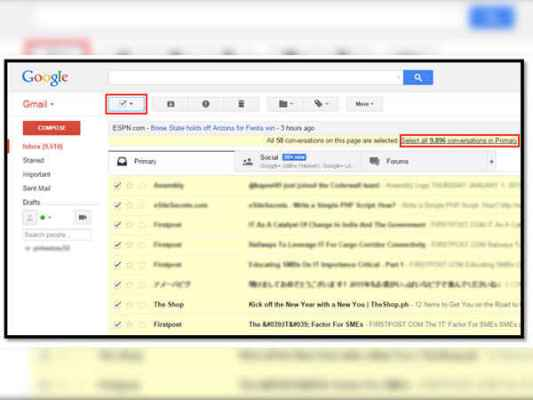 How to Archive Messages in Gmail