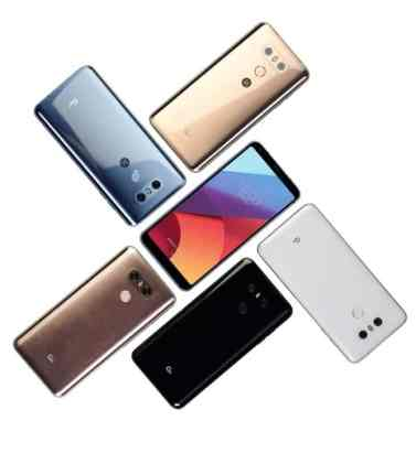 LG G6+ different color variants
